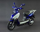 G-Bike Electric Bike Blue City